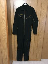 vintage RCAF fighter pilot flight suit with name, size M.