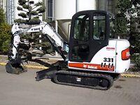 Bobcat X331 X331E X334 331 331E 334 Mini Excavator Workshop Service Manual #6