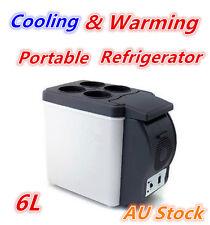 6L Portable Car Refrigerator Drink Cooler Fridge Food Warmer Camping Caravan