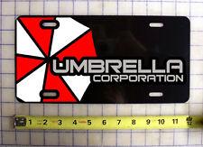 UMBRELLA CORPORATION CUSTOM LICENSE PLATE / CAR TAG