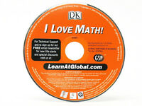 I Love Math Windows 7 Computer PC CD Game for Kids Learn Skills by DK Fractions