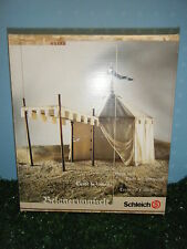 SCHLEICH RETIRED SIEGE TENT #40193 *NEW*
