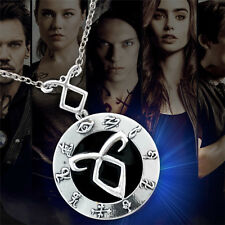 The Mortal Instruments City of Bone Pendant Necklace Locket Keychain Phone Chain