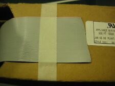 40 conductor ribbon cable (10ft lengths) 28 AWG  3365/40