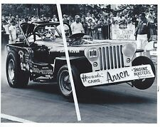 1960s Drag Racing-the SECRET WEAPON-Jeep Funny Car-Cecil County Dragoway-1967
