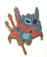 Disney Pin Badge Disney Auctions (P.I.N.S.) - Stitch with Devils Pitchfork