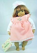"Heidi Ott Doll Baby Pudge Swiss Design 81/2"" Handmade New in Box Gift Wrapped"