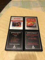 Atari Games Lot (4 Games)