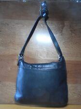 Coach Vintage Hippie Crossbody leather Bag Black Shoulder