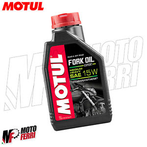 MF2426 - 1LT FORK OIL MOTUL OLIO FORCELLA 15W SINTETICO ROAD & OFF ROAD SAE 15