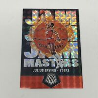 Julius Erving 2019-20 Panini Mosaic Jam Masters MOSAIC SILVER PRIZM SP Fresh
