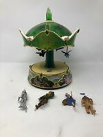 Bradford Exchange Wizard of Oz Illuminated Carousel Off to See the Wizard *Rare*