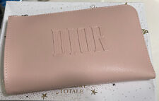 Christian Dior Cosmetic Pouch Make up Case LAST ONE! Plus Freebie!