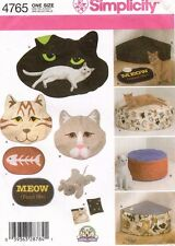 Simplicity Cat Beds and Accessories Pattern 4765 UNCUT