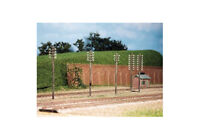Telegraph Poles (10 per pack) - N gauge Ratio 211