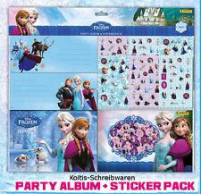 Frozen - Die Eiskönigin - Party Album & Sticker Pack über 500 Sticker Neu & OVP