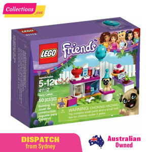 GENUINE LEGO Friends - Party Cakes - 41112 - Fast FREE Shipping from Sydney !!