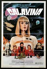 GALAXINA DOROTHY STRATTEN SCI-FI PLAYBOY PLAYMATE 1980 1-SHEET