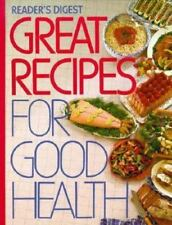 Reader's Digest Great Recipes for Good Health, , Good Condition, Book
