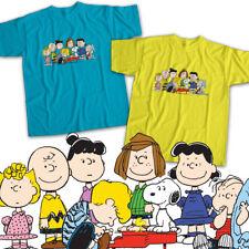 Peanuts Charlie Brown Snoopy Friends Group Mens Womens Kids Unisex Tee T-Shirt