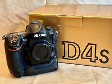 Nikon D4S 16.2 MP Digital SLR Camera - USA version, with box etc.