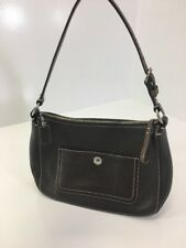 COACH WOMEN'S MEDIUM LEATHER HOBO BAG CHOCOLATE PRE OWNED