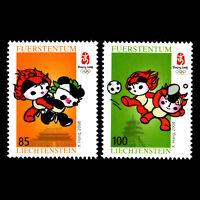 Liechtenstein 2008 - Olympic Games - Beijing, China  - Sc 1412/3 MNH