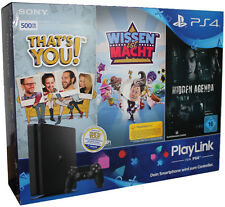 PlayStation 4 - Konsole PS4 Slim 500GB CUH 2116A inkl. 3 Spiele