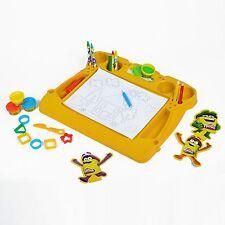 Play Doh Attività Scrivania Set bambini artigianato modellazione Stampi Strumenti Colore Matite Penna