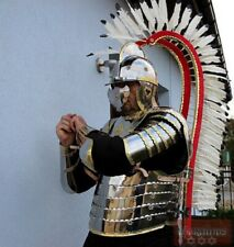 Medieval Full Body Hussars Armor Suit Larp Costume Museum Replica With Wings