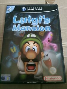 Luigi's Mansion GameCube PAL case and manual only no disc