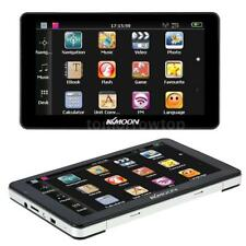 "KKMOON 7"" HD GPS Navigator MP3 Video Car Entertainment System Free Map 4GB S8YP"