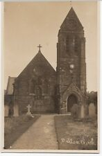 Wigan; Dalton Church Front View RP PPC, Unposted, c 1920's