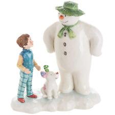 John Beswick The Snowman & The Snowdog Let's go on An Adventure Figurine