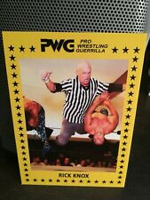 PWG Battle Of Los Angeles 2017 Rick Knox BOLA Bonus Trading Card WWE WCW ROH