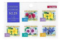 Australian Stamps: 1999 - Nature of Australia Booklet 5 Coastal Flowers Original