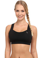 Brooks Women's Black Uplift Crossback Bra Size L 11011