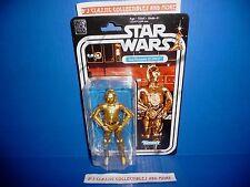 Star Wars The Black Series 40th Anniversary C-3PO Figure See-Threepio New!