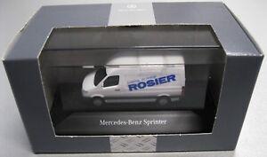 Werbemodelle Rosier Herpa 1:87 Mercedes-Benz Sprinter im Mercedes-Benz Karton
