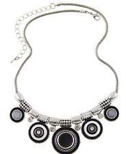 Fashion Vintage Boho Women Chain Pendant Choker Statement Collar Bib Necklace