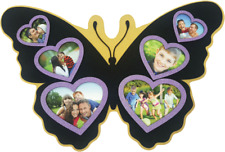 Personalized Custom Butterfly Shaped Picture/Wood PhotoFrame for Family/personal