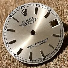 Rolex Oyster Perpetual Datejust Midsize Junior Replacement Dial Roman Numerals