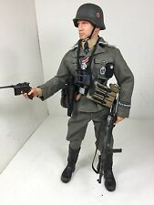"1/6 DRAGON GERMAN 5TH SS""GERMANIA"" RGMNT MP-40+MAUSER C96+HOLSTER BBI DID WW2"