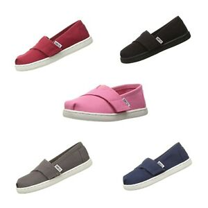 NEW Toms Infant/Toddler Classic Canvas Slip On Shoes - Multicolor