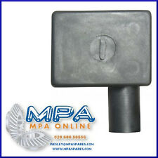 BATTERY TERMINAL COVER - NEGATIVE RIGHT FLAG ENTRY - HIGH QUALITY DURABLE PVC