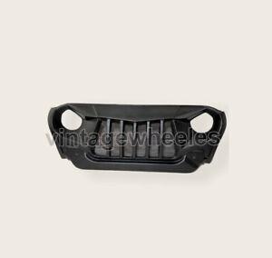 Fiber Grill Grille Black Front Wrangler Fit For Mahindra Thar CRDE Jeeps