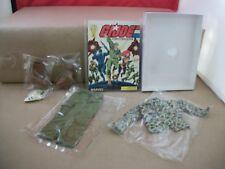 "NOS Vintage G.I. Joe 12"" Action Figures Outfit + G.I. Joe Comic Magazine"