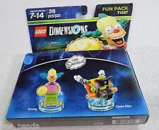 LEGO Dimensions Krusty Fun Pack 71227 NEW SEALED Clown Bike The Simpsons