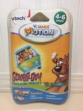 Vtech VSmile Motion Learning System Scooby Doo Game Cartridge Math Numbers NEW