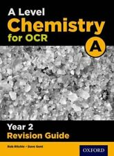 A Level Chemistry for OCR A Year 2 Revision Guide by Rob Ritchie 9780198357773